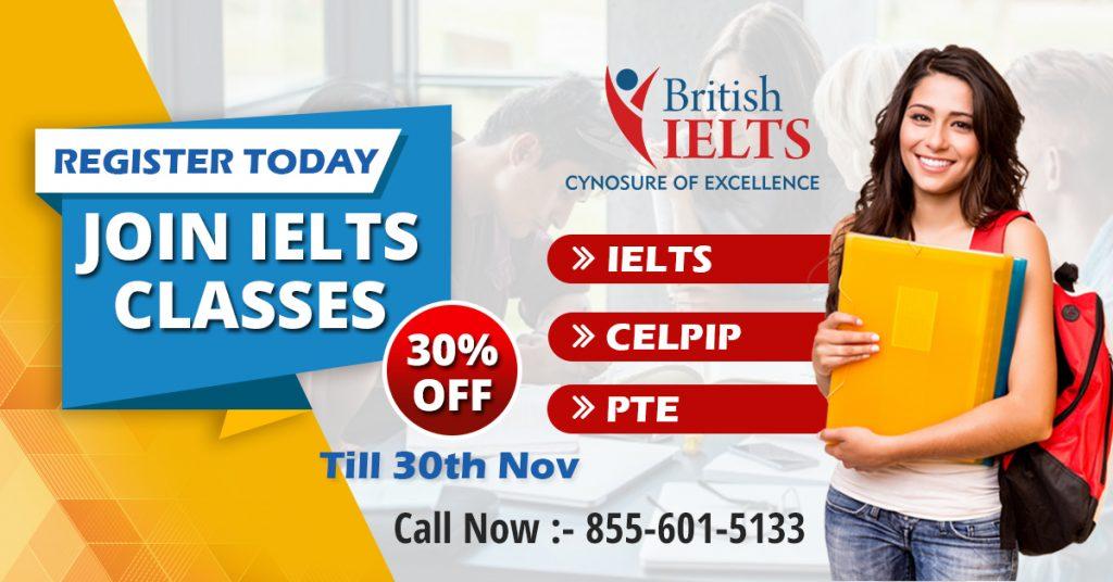 Join IELTS Classes - Britishielts.in